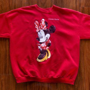 90s Disney Minnie Mouse Orlando FL Sweatshirt